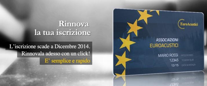 Iscrizione Euroacustici Aziende e Sponsor – Bonifico
