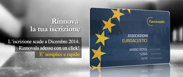 Iscrizione Euroacustici Aziende e Sponsor